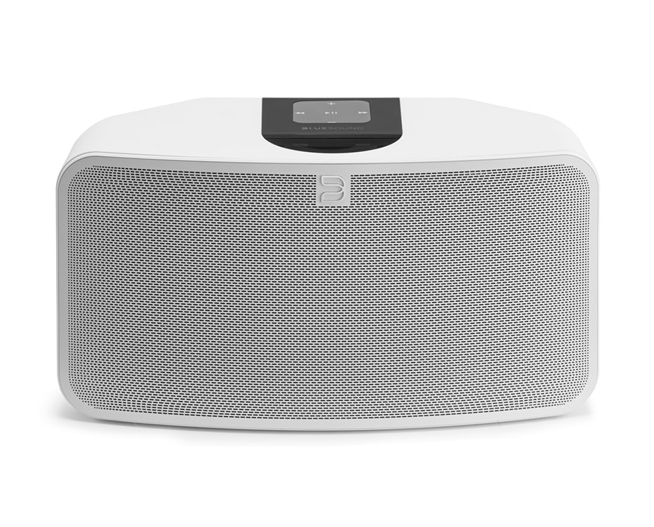 Bluesound Pulse Mini weiß Streaming-Lautsprecher