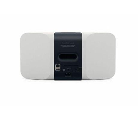 Bluesound Pulse Mini weiß Streaming-Lautsprecher Rückseite